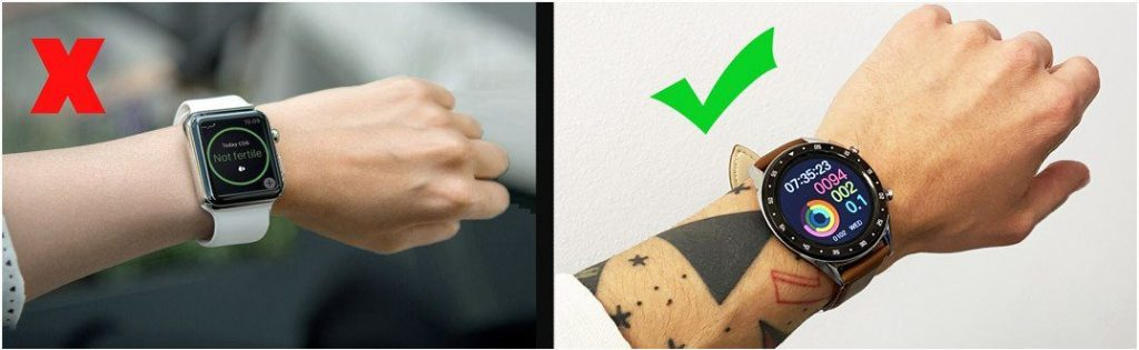 smartwatch styling