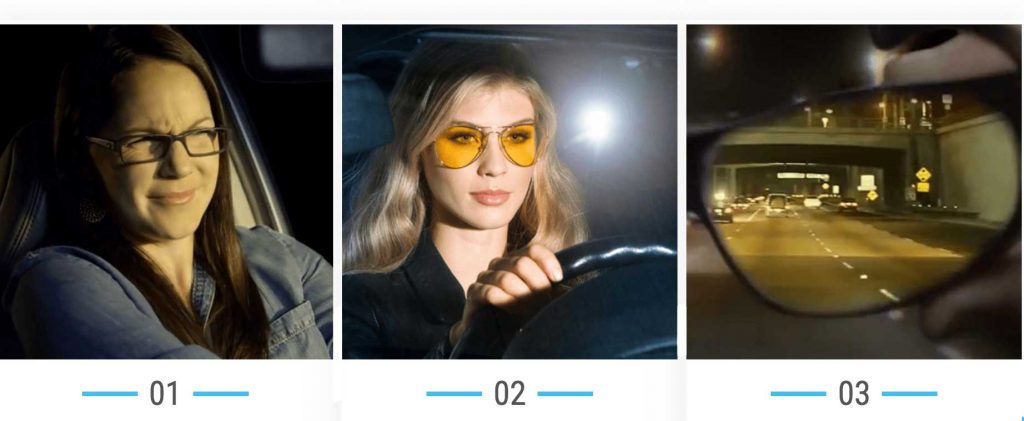 how clearview driving glasses work