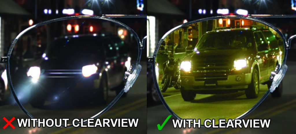 clearview driving glasses