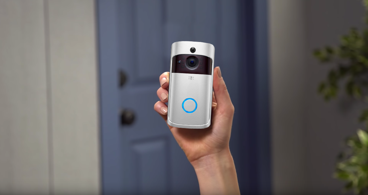 This Smart Video Doorbell Lets You Watch over Your Home, Even When You're a Thousand Miles Away...