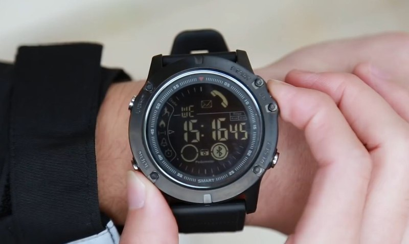 The Super Tough Military Inspired SmartWatch Every Guy in World is Talking About… - Tactical Watch Review