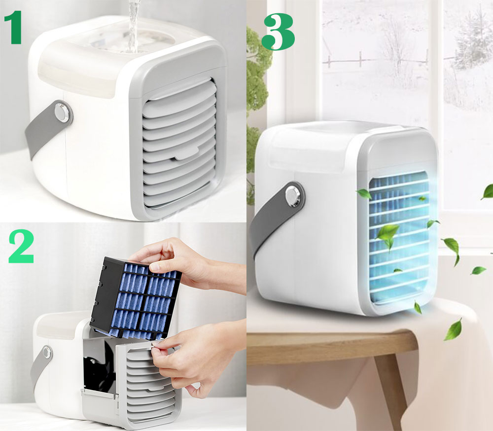 Suffering from Summer Heat? Check Out This Incredible Invention - Arctic Breeze Portable AC Review